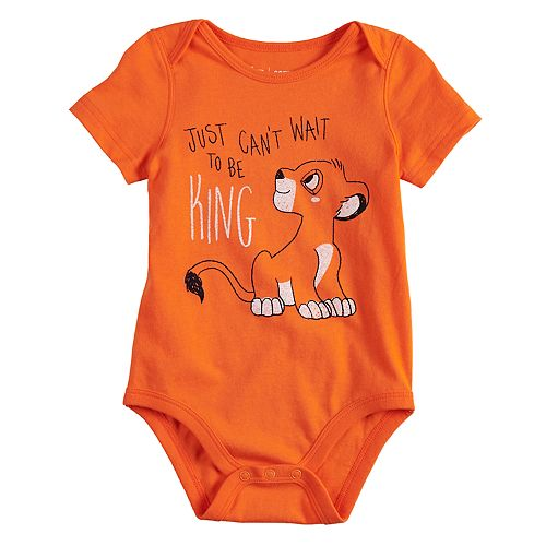 Disney's The Lion King Baby Boy Simba Bodysuit by Jumping Beans®
