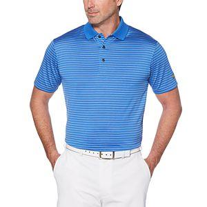 Men's Jack Nicklaus Regular-Fit StayDri Striped Performance Golf Polo