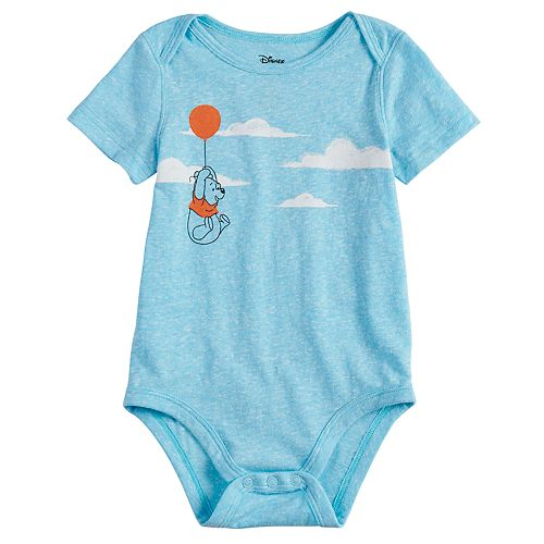2141eed1e Disney's Winnie the Pooh Baby Boy Clouds Bodysuit by Jumping Beans