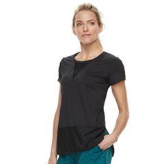 Women's Tek Gear® Mesh Panel Short Sleeve Tee