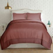 PCT Home collection Velvet Frame Quilt Set
