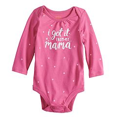 Baby Girl Jumping Beans® 'Love You' Bodysuit