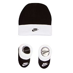Baby Boy Nike Hat & Booties Set