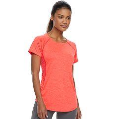 Women's Tek Gear® Mesh Back Base Layer Tee