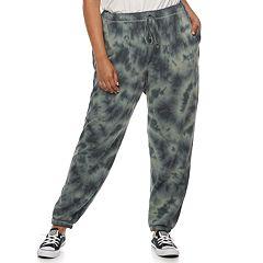 Juniors' Plus Size SO® Drawstring Jogger Sweatpants
