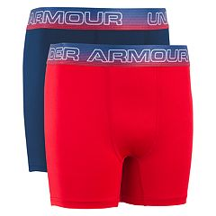 Boys 7-20 Under Armour Americana Performance 2-Pack Boxer Set