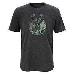 Boys 8-20 Milwaukee Bucks Distressed Logo Tee