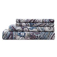 Grand Collection Elise Cotton Print 300 Thread Count Sheet Set