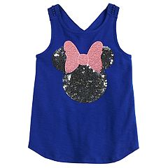 Disney's Minnie Mouse Girls 4-10 Sequined Graphic Tank Top by Jumping Beans®