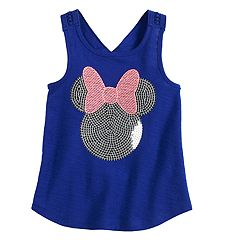Disney's Minnie Mouse Toddler Girl Sequined Graphic Tank Top by Jumping Beans®