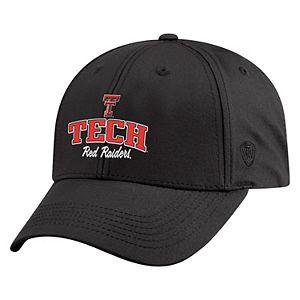 Adult Top of the World Texas Tech Red Raiders Advisor Adjustable Cap