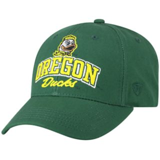 Adult Top of the World Oregon Ducks Advisor Adjustable Cap