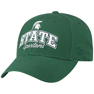 Adult Top of the World Michigan State Spartans Advisor Adjustable Cap