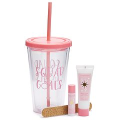 Simple Pleasures 'Squad Goals' Insulated Tumbler Set