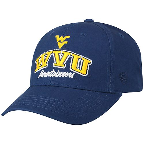 Adult Top of the World West Virginia Mountaineers Advisor Adjustable Cap