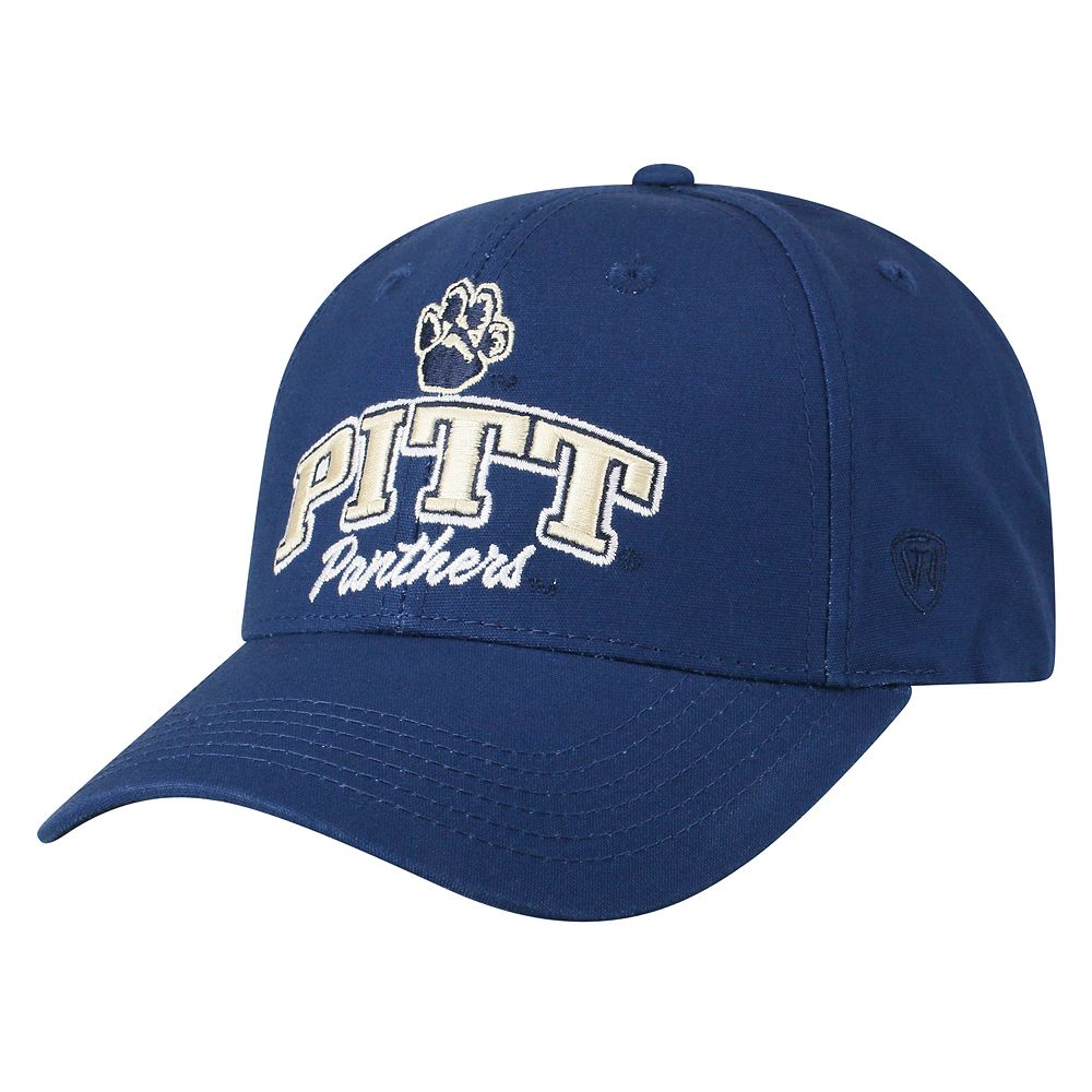 Adult Top of the World Pitt Panthers Advisor Adjustable Cap