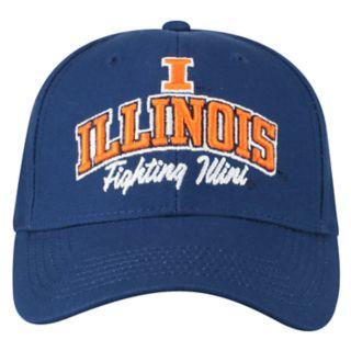 Adult Top of the World Illinois Fighting Illini Advisor Adjustable Cap