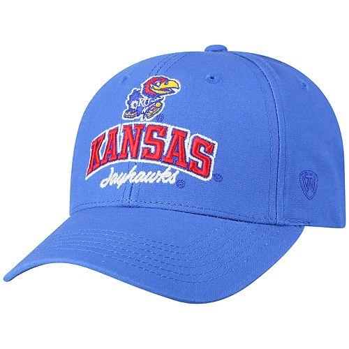 Adult Top of the World Kansas Jayhawks Advisor Adjustable Cap