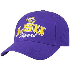 Adult Top of the World LSU Tigers Advisor Adjustable Cap
