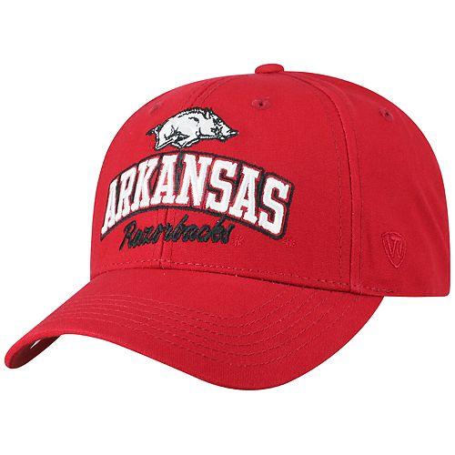 Adult Top of the World Arkansas Razorbacks Advisor Adjustable Cap