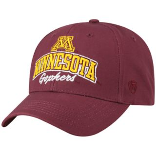 Adult Top of the World Minnesota Golden Gophers Advisor Adjustable Cap