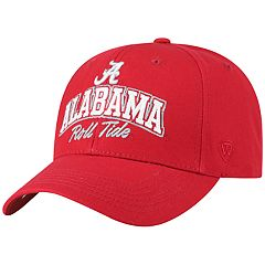 Adult Top of the World Alabama Crimson Tide Advisor Adjustable Cap