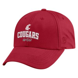 Adult Top of the World Washington State Cougars Advisor Adjustable Cap