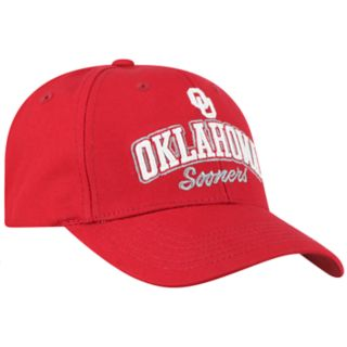Adult Top of the World Oklahoma Sooners Advisor Adjustable Cap
