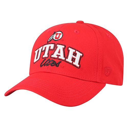 Adult Top of the World Utah Utes Advisor Adjustable Cap