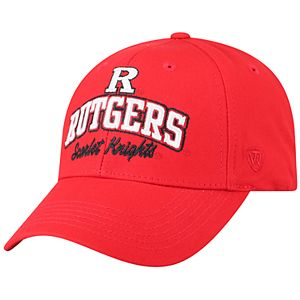 Adult Top of the World Rutgers Scarlet Knights Advisor Adjustable Cap