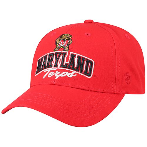 Adult Top of the World Maryland Terrapins Advisor Adjustable Cap