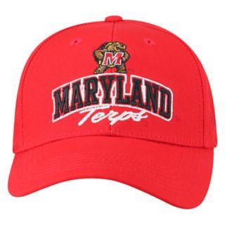 Adult Top of the World Maryland Terrapins Advisor Adjustable Cap
