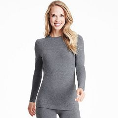 Plus Size Cuddl Duds Softwear Crewneck Top