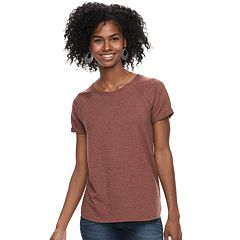 Women's SONOMA Goods for Life™ Super Soft French Terry Raglan Tee