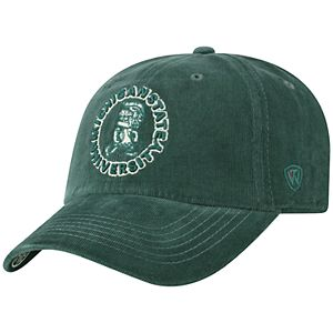 Adult Top of the World Michigan State Spartans Artifact Adjustable Cap