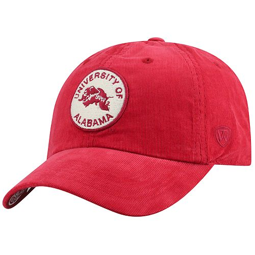 Adult Top of the World Alabama Crimson Tide Artifact Adjustable Cap