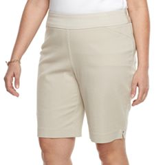 Plus Size Croft & Barrow® Pull-On Bermuda Shorts