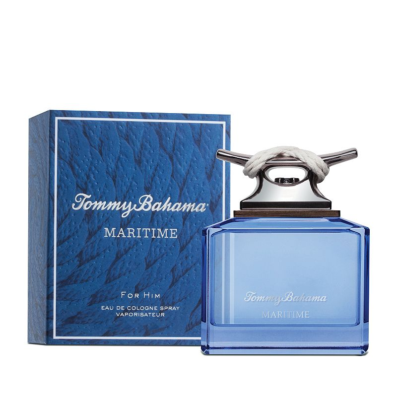 Tommy Bahama Maritime Men's Cologne - Eau de Cologne, Size: 2.5Oz Tommy Bahama Maritime blends aromatic botanicals with intriguing complexity for a scent that evokes warm trade winds over crystal clear waters.FRAGRANCE NOTES Bergamot, pink pepper, clary sage, lavender, water lily, jasmine, violet leaf, geranium, ambergris, cedarwood, ambrette seed, sandalwood, musk and moss. FRAGRANCE DETAILS 2.5 fl. oz. Eau de cologne Size: 2.5Oz. Color: Multicolor. Gender: male. Age Group: adult. Material: Boxed.