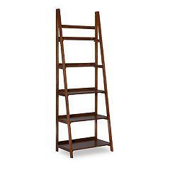 Linon Charlotte 5-Shelf Bookcase