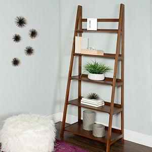 Linon Charlotte 5-Shelf Bookcase