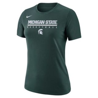 Women's Nike Michigan State Spartans Practice Legend Tee