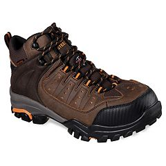 Skechers Work Relaxed Fit Delleker Lakehead Men's Waterproof Steel Toe Boots