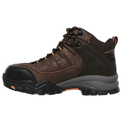 Skechers Work Relaxed Fit Delleker Lakehead Men's Waterproof Steel Toe Boots