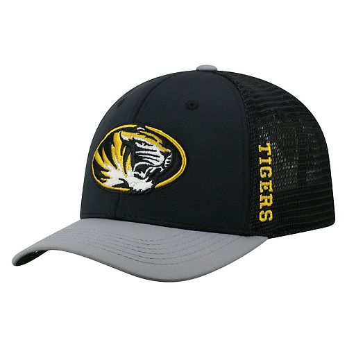 Adult Top of the World Missouri Tigers Chatter Memory-Fit Cap