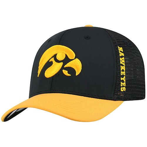 Adult Top of the World Iowa Hawkeyes Chatter Memory-Fit Cap