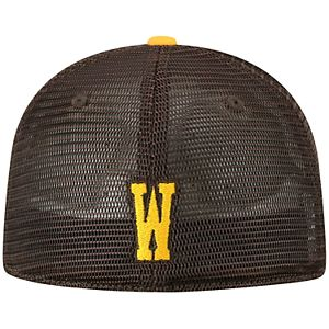 Adult Top of the World Wyoming Cowboys Chatter Memory-Fit Cap