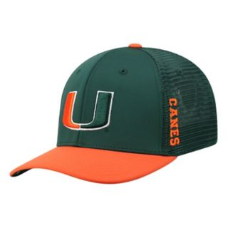 Adult Top of the World Miami Hurricanes Chatter Memory-Fit Cap