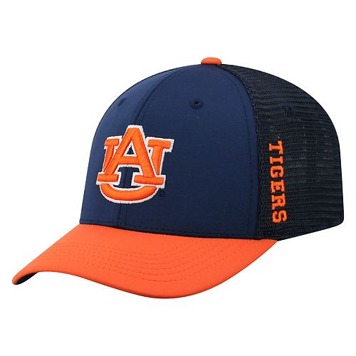 Adult Top of the World Auburn Tigers Chatter Memory-Fit Cap