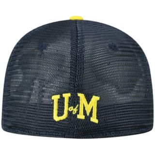 Adult Top of the World Michigan Wolverines Chatter Memory-Fit Cap