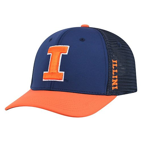 8a112540a3e Adult Top of the World Illinois Fighting Illini Chatter Memory-Fit Cap